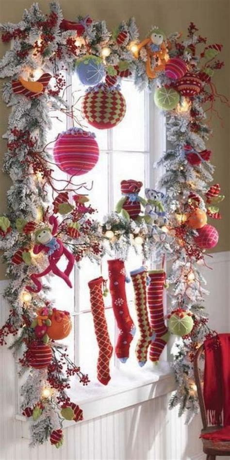 outstanding christmas window decorations ideas