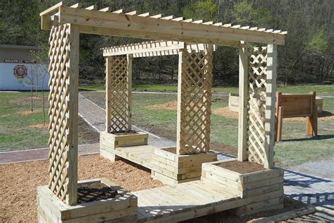 room and board zen media how to build a trellis planter bench kaboom