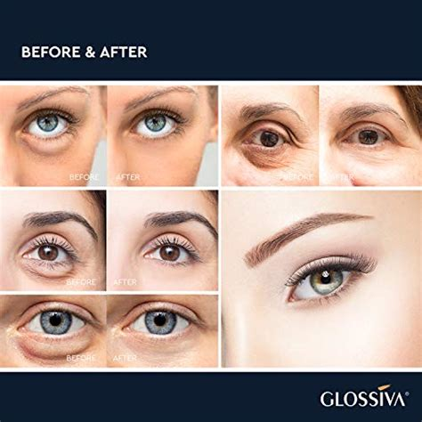 Glossiva Eye Gel, Hyaluronic acid for Wrinkles, Fine Lines