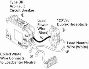 Arc Fault Receptacle Wiring