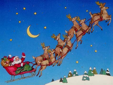 santa in sleigh airline ambassadorsairline ambassadors