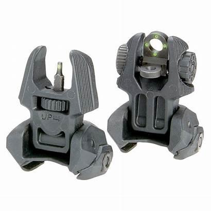 Sights Tritium Flip Rear Meprolight Dots Mako