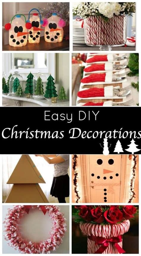 cute  easy diy holiday decorations   festive home