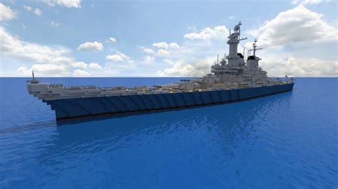 USS Montana BB67 [1:1] Minecraft Project