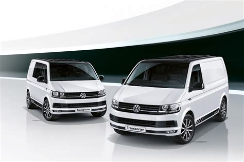 Fully-loaded New Vw Transporter Edition Model Pushes Panel