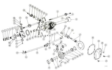 M38 Army Jeep Wiring Schematic by Willys Jeep Parts Diagrams Illustrations From Midwest