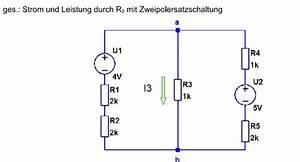 Auflagerreaktion Berechnen : elektrotechnik berechnung einer zweipol schaltung ~ Themetempest.com Abrechnung