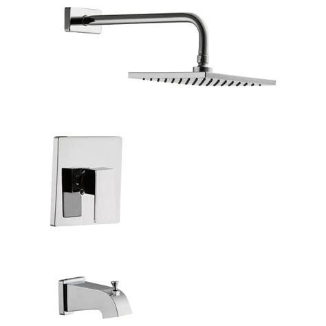glacier bay shower faucet temperature adjustment glacier bay marx single handle 1 spray tub and shower