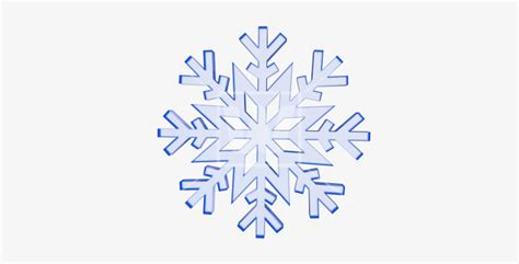 Transparent Background Snowflake Logo Png by Icy Snowflake 3d Blue Snowflake Transparent Background