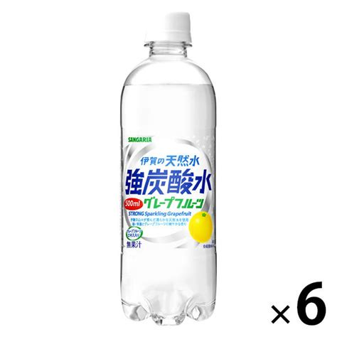 伊賀 の 天然 水 強 炭酸 水