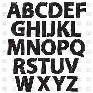 free black and white alphabet clip art 74 With black and white letter art