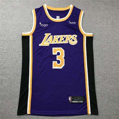 2019/20 Adult Lakers basketball jersey shirt Davis 3 purple