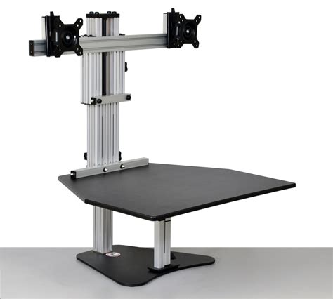 kangaroo elite adjustable height desk ergo desktop