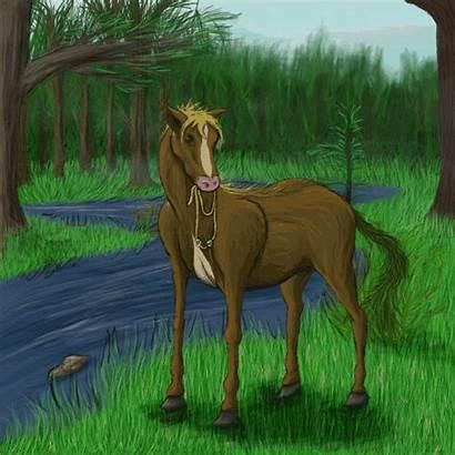 Spirit G4 Vore Horse River Aryion Kelpie