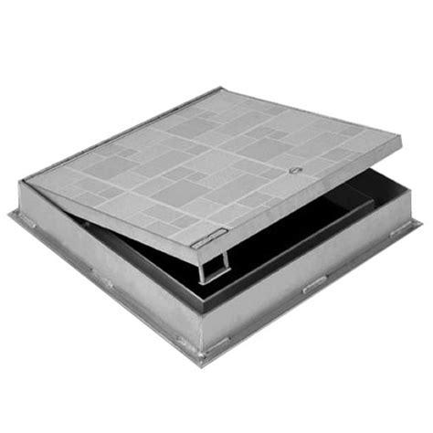 ft 8050 1 quot recessed floor access door aluminum floor