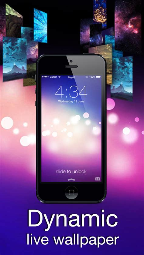iphone dynamic wallpaper look the new ringtones dynamic wallpapers in ios dynamic wallpapers 3d parallax live theme on lock screen