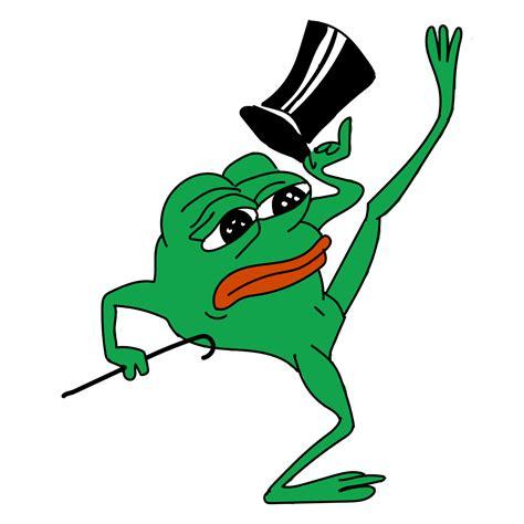 Transparent Memes - sad pepe dancing transparent png stickpng