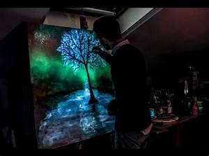Crisco Art Pain... Glow In The Dark Paint