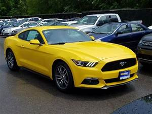 Used Ford Mustang yellow exterior for Sale