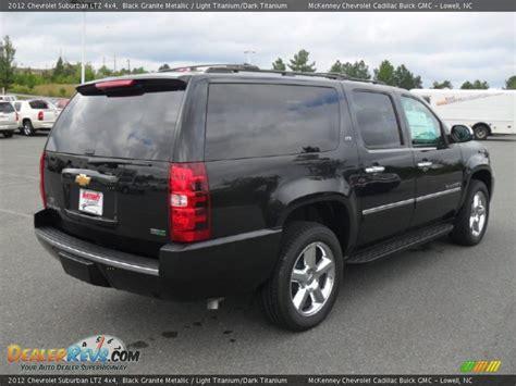 2012 Chevrolet Suburban LTZ 4x4 Black Granite Metallic ...