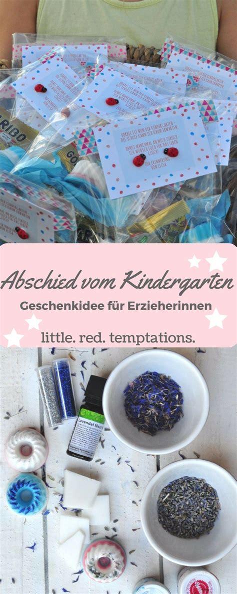 kindergartenabschied geschenkidee f 252 r die erzieherinnen