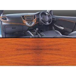 buy maruti  baleno rosewood wooden dashboard trim kit