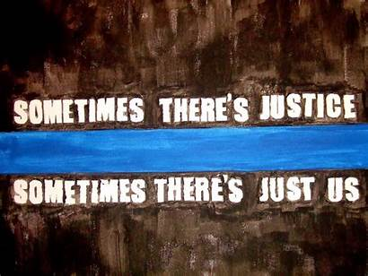 Thin Line Law Wallpapers Enforcement Police Flag