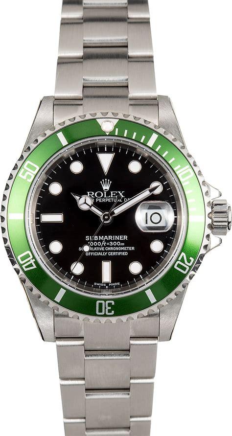 Rolex Submariner Anniversary Green 16610 Unworn
