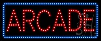 Arcade Sign Led Animated Neon Signs Games
