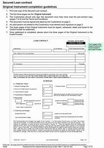 40 free loan agreement templates word pdf template lab With land document loan