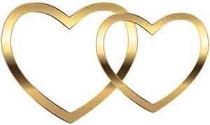 Gold Heart Clip Art Free