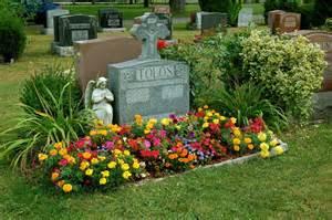 garden design cemetery plants
