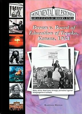 barnes and noble topeka brown vs the board of education topeka ks 1954 by