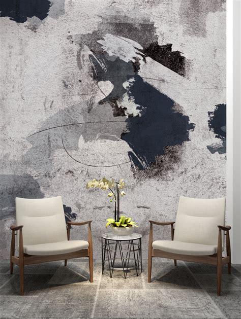 abstract painting wallpaper mural designer wallpaper