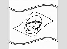 Brazil Flag Coloring Page Coloring Home