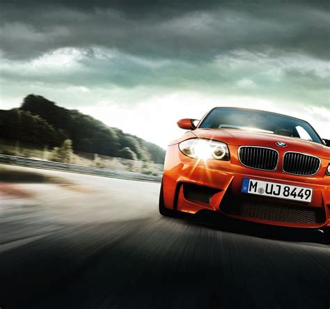 Bmw Red Cool Car Full Hd Wallpaper