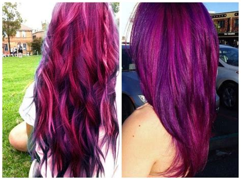 purple pink color purple hair colors that actually look hair world