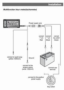 Hour Meter Wiring Diagram