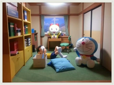 nobitas room doraemon wallpapers doraemon room