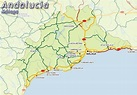 Map of Malaga map for planning your holiday in Malaga ...