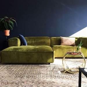 Sofa Samt Grün : die besten 25 wohnzimmer sofas ideen auf pinterest ~ Michelbontemps.com Haus und Dekorationen