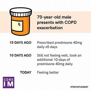 70m With Copd Exacerbation