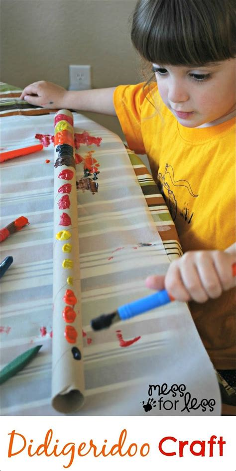 didgeridoo crafts for children can decorate and 396 | bd452f347275456c2baaa871012d0e52