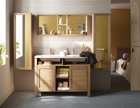 salle de bain casto salle de bain zen jouez la carte du meuble en bois