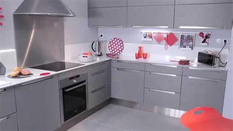meuble cuisine avec ier int r emejing meuble de cuisine gris gallery amazing house