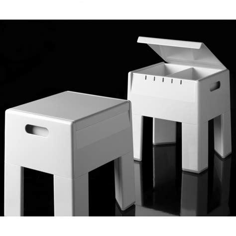 Sgabello Contenitore by Gedy 2073 Box Sgabello Contenitore Doccia Accessori Bagno