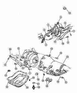 2001 Dodge Ram 1500 Cover  Transmission Dust  Flat  Case