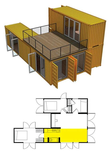 Shipping Container Cabin Floor Plans by The World S Catalog Of Ideas