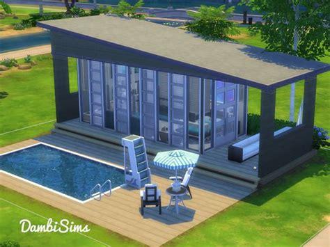 Tiny Häuser Spanien by Dambisims Modern Tiny Villa Sims Sims Haus Sims 4