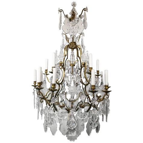 antique chandelier baccarat for sale at 1stdibs